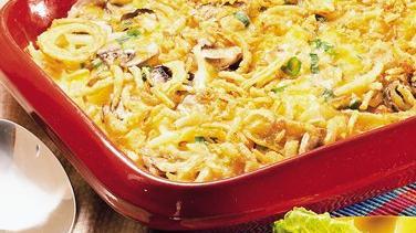 Mushroom-Potato Bake