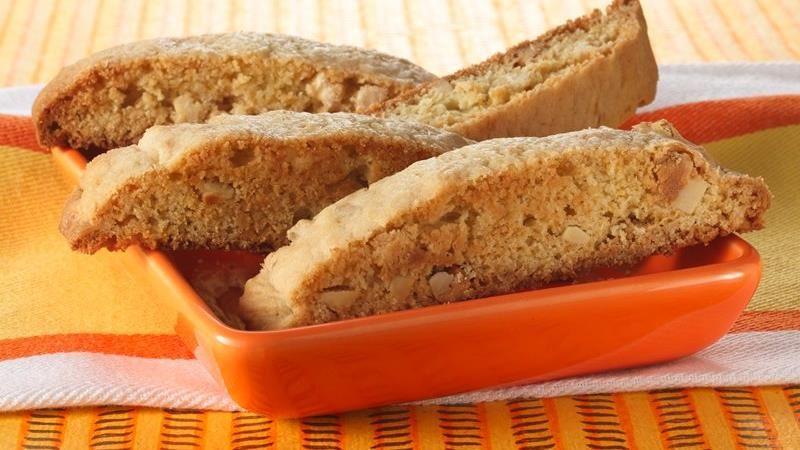Ginger-Almond Biscotti