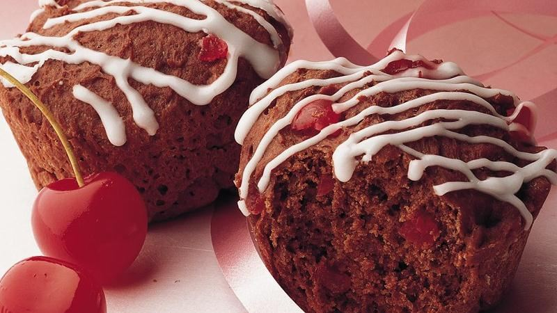 Cherry-Chocolate Buns