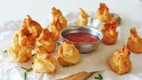Sriracha and Cream Cheese Wonton Bombs