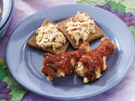 Spicy Asian Barbecued Chicken Wings