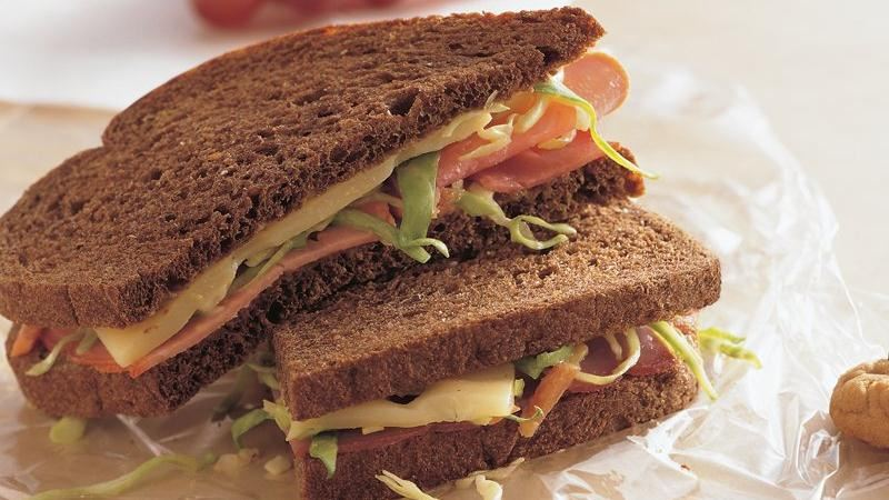Honey Mustard Ham and Swiss Sandwiches