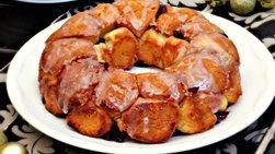 Pan Trenzado de Naranja con Arándanos y Nueces