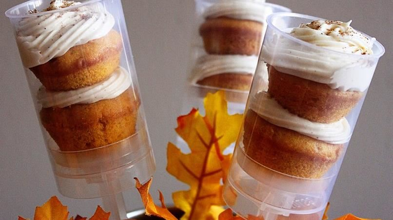 Pumpkin Pie Push-It-Up Pops