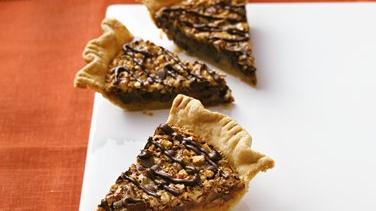 Spiced Chocolate Chip-Pecan Pie