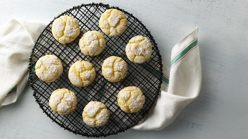 Cake Mix Gooey Butter Cookies