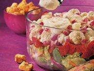 Creamy Layered Vegetable Salad