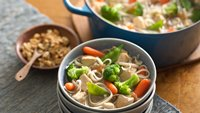 One-Pot Gluten-Free Asian Chicken and Noodles