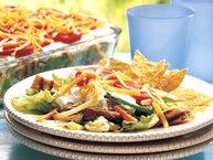 Fajita Layered Salad