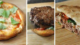 Neapolitan Pizza Burger