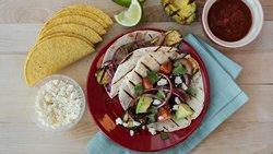 Grilled Veggie Ten Minute Tacos