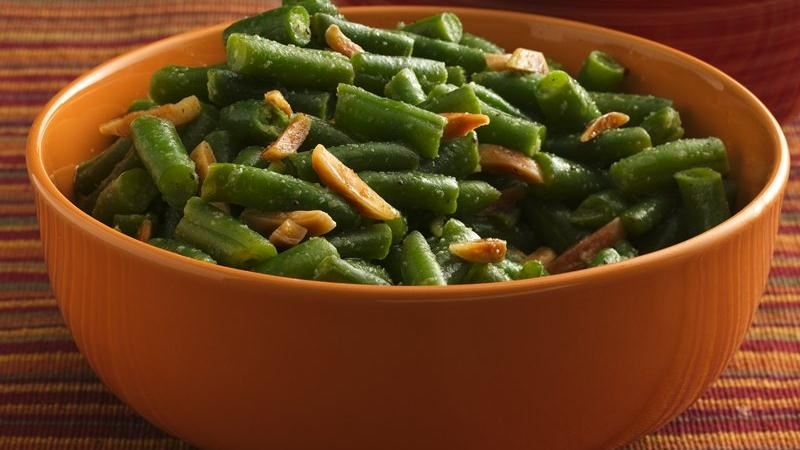 Gluten-Free Garlic Green Beans