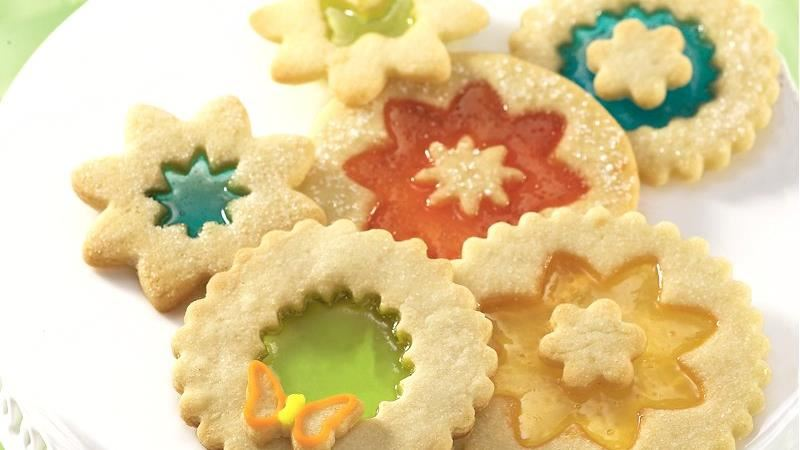 Magic Window Cookies