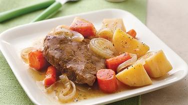Slow-Cooker Pot Roast and Vegetables