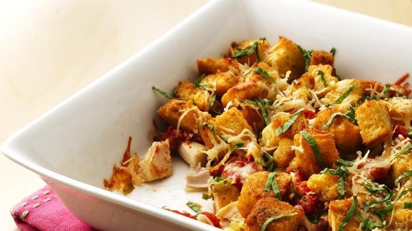 Baked Chicken Panzanella