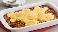 Salsa-Turkey Cornbread Casserole