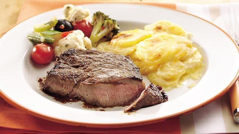 Pan-Seared Sirloin Steak