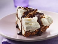 Gluten-Free Chocolate Chip Cookie Ice Cream Pie