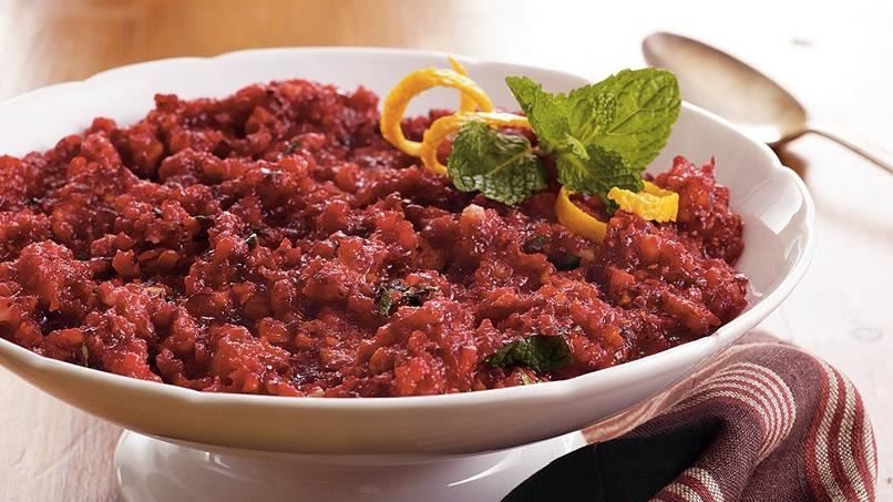 Minted Cranberry Relish