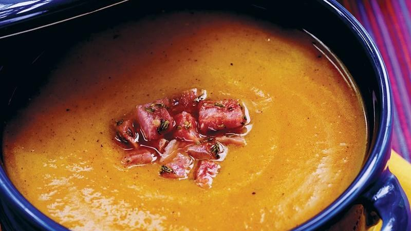 Ham and Butternut Squash Soup