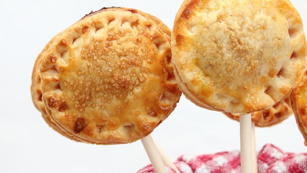 Cherry Pie Pops