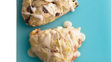 Apricot-Orange Cream Scones
