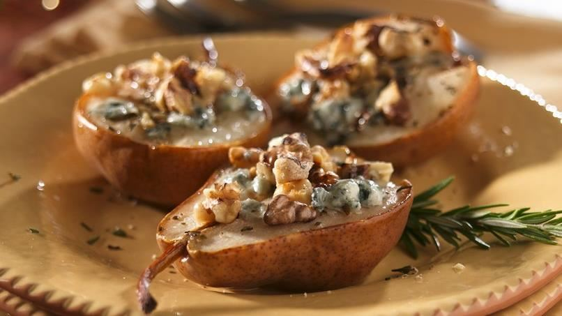 Roasted Rosemary-Gorgonzola Pears