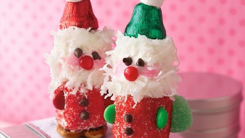 Marshmallow Santas