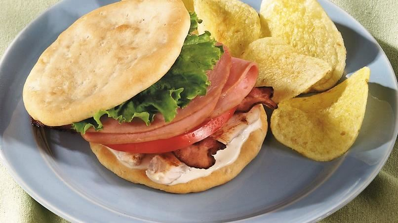 Chicken California Club Sandwiches