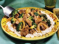Slow-Cooker Easy Beef and Broccoli