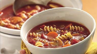 Slow-Cooker Tomato Rotini Soup