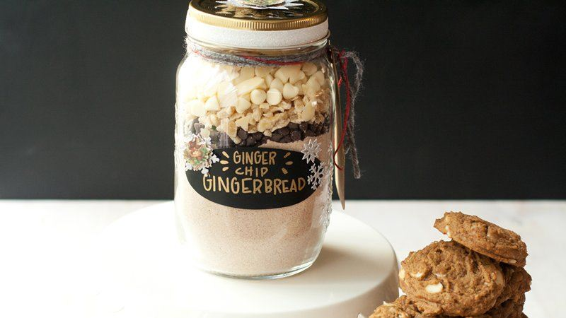 Ginger-Chip Gingerbread Cookies