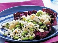 Chicken, Edamame and Rice Salad