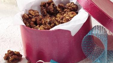 Maple-Glazed Walnuts