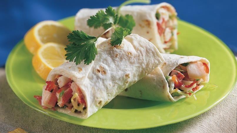 Crab Tortilla Roll-Ups