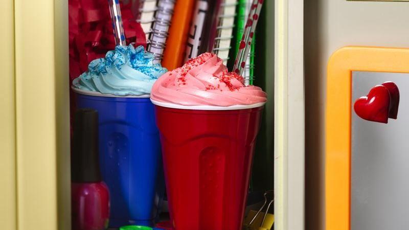 Slushee Cup Cakes