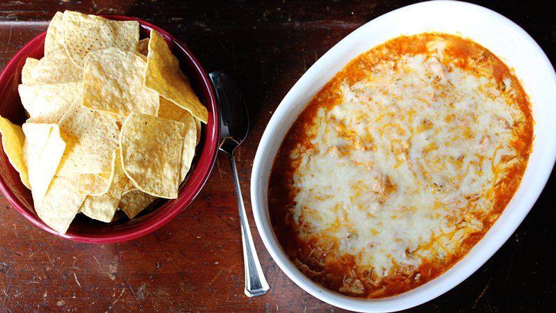 Chicken Enchilada Dip recipe from Betty Crocker