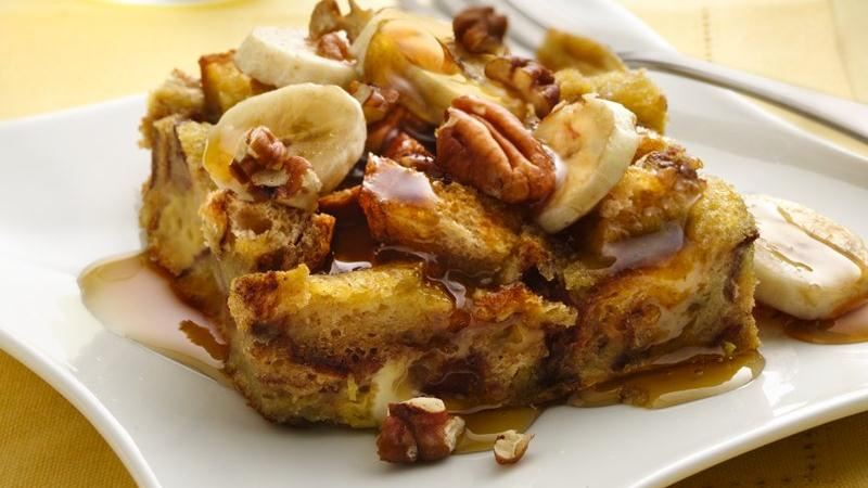Bananas Foster French Toast recipe from Betty Crocker
