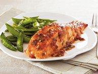 Chili-Garlic Glazed Salmon