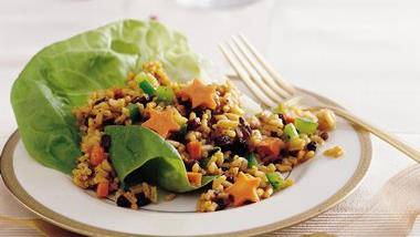 Wild Rice and Currant Salad