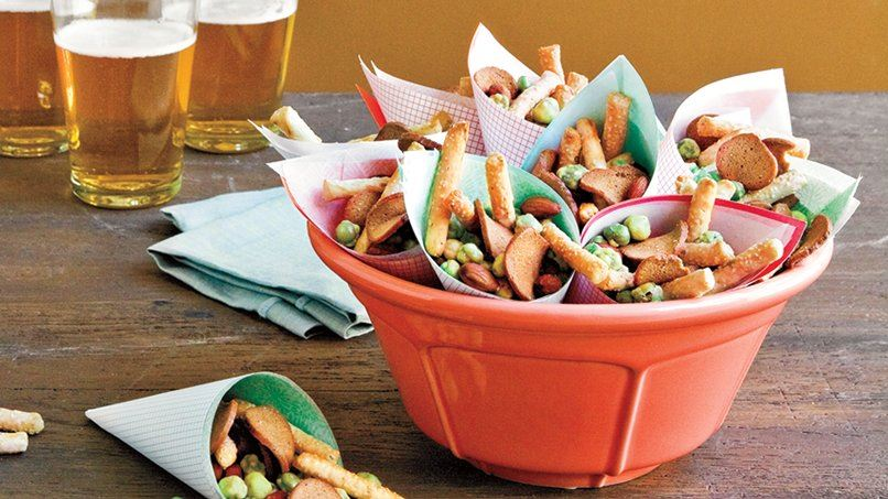 Spicy Party Snack Mix