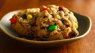 Gluten Free Easy Monster Cookies