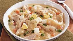 Slow-Cooker Chicken and Dumplings