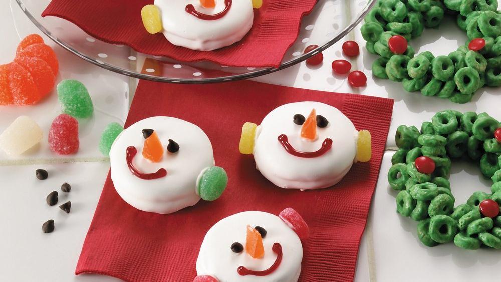Snowman Faces