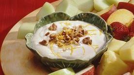 Orange Yogurt Fruit Dip