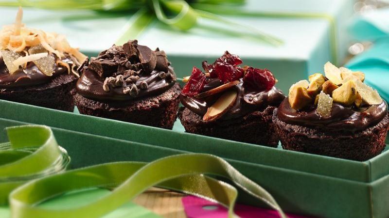 Gluten-Free Chocolate Truffle Cakes