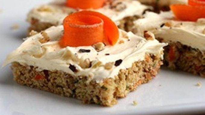 Carrot Zucchini Bars recipe - from Tablespoon!