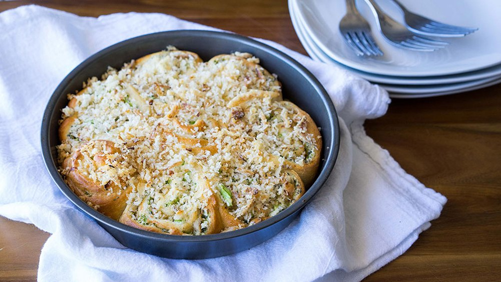 Chicken and Broccoli Pinwheels