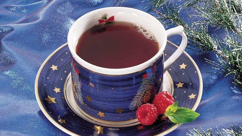Cranberry-Raspberry Ginger Tea