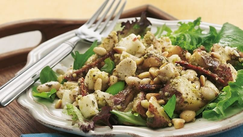 Tuscan Roasted Potato-Chicken Salad